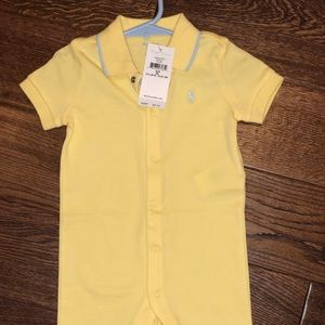 Ralph Lauren polo onesie brand new!!!